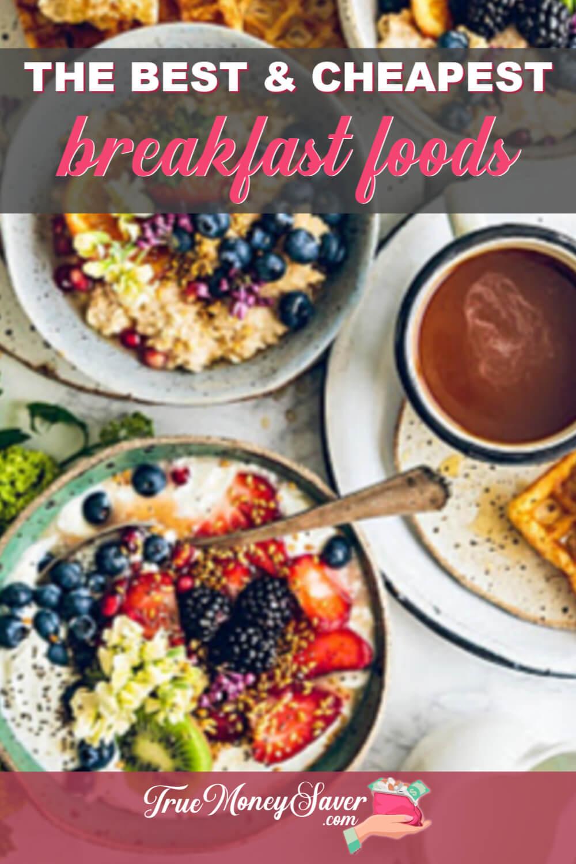 best fast breakfast foods