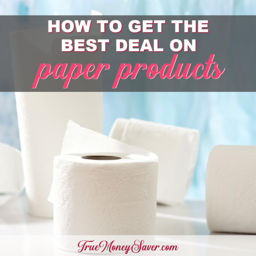 How To Get The Best Deals On Your Paper Household Goods