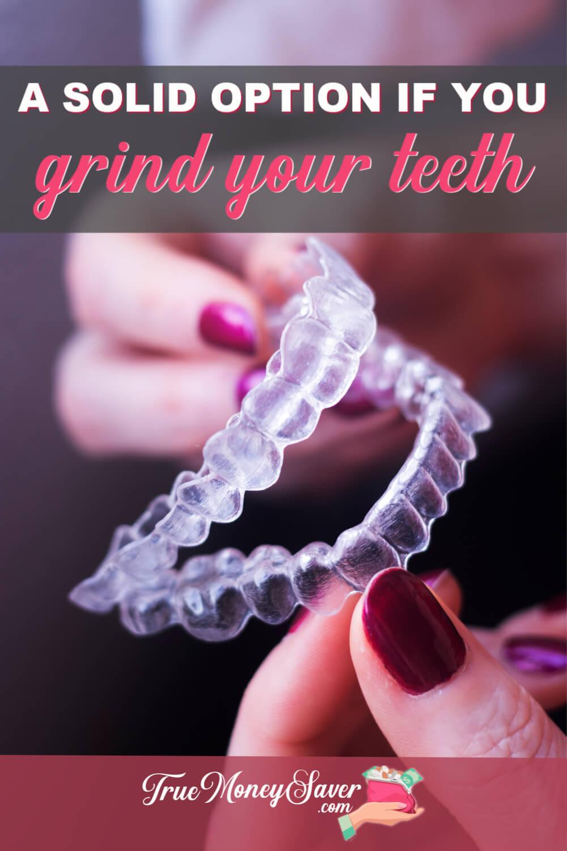 grinding my teeth