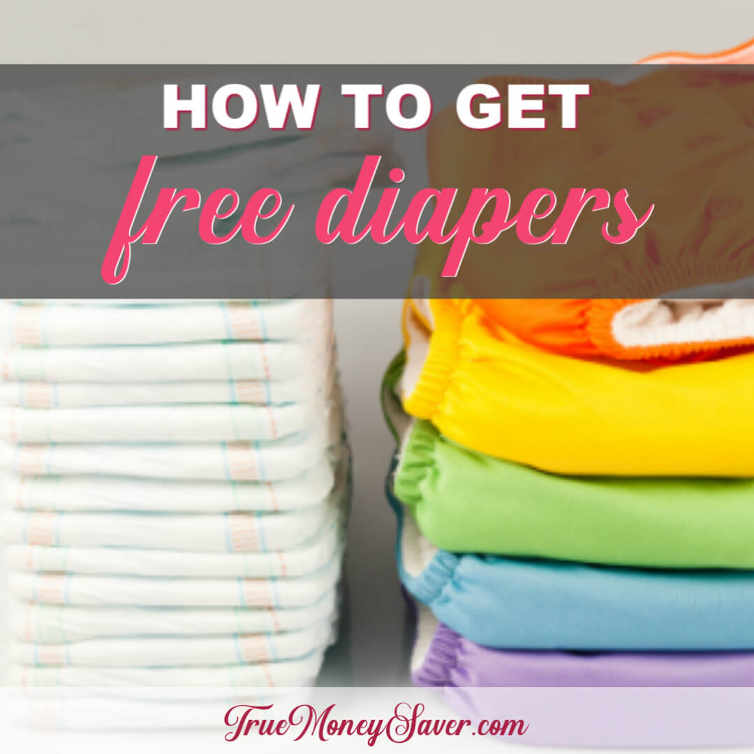 How To Get FREE Baby Diapers For Your Little One