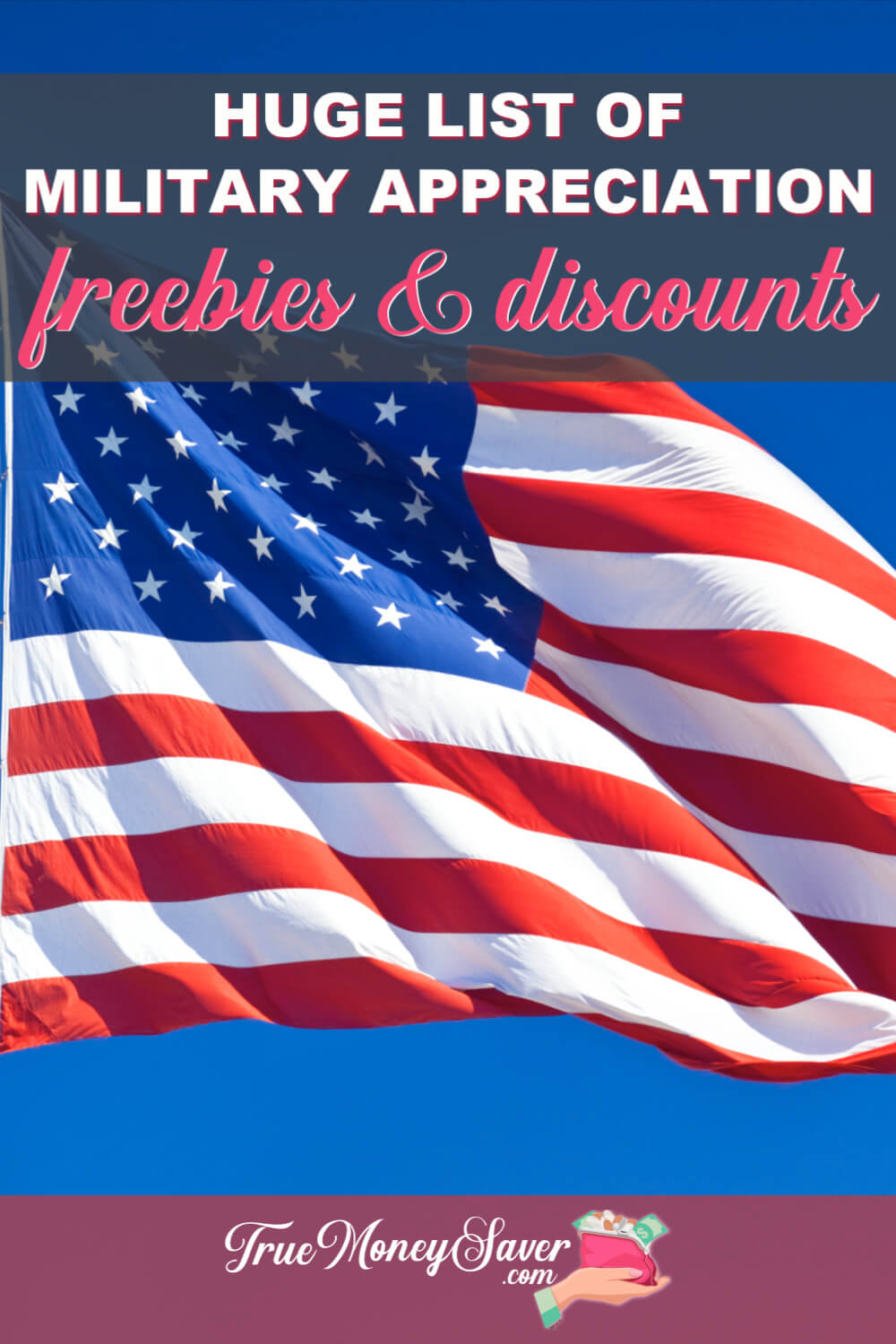 The Most Outstanding 45 Military Appreciation FREEbies & Discounts (Waves Of Honor Details)