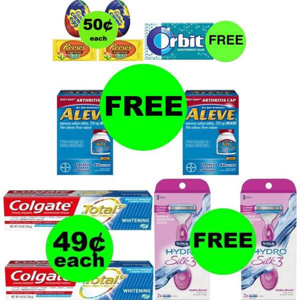 CVS Deals: Don't Miss 3 FREEbies Plus 3 Deals $.50 Each Or Less! (Ends 3/28)