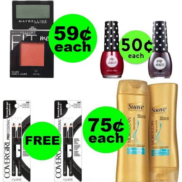 CVS Deals: Don't Miss 2 FREEbies Plus 3 Deals $.75 Each Or Less At CVS! (Ends 4/4)