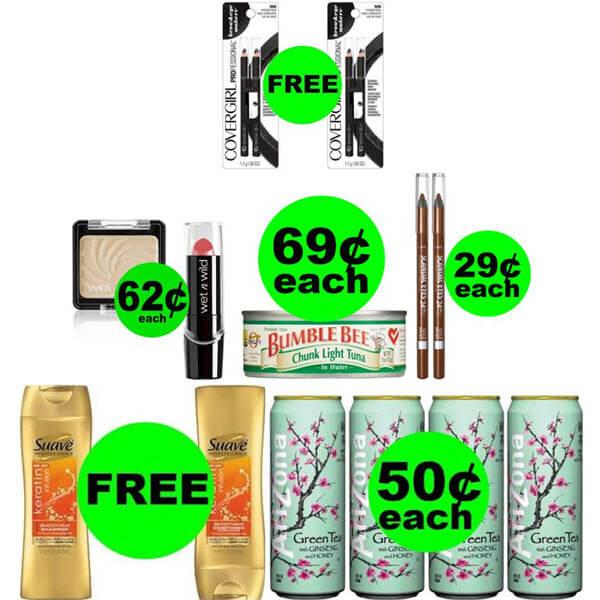 CVS Deals: 4 FREEbies Plus 4 Deals $.69 Each Or Less! (Ends 4/11)