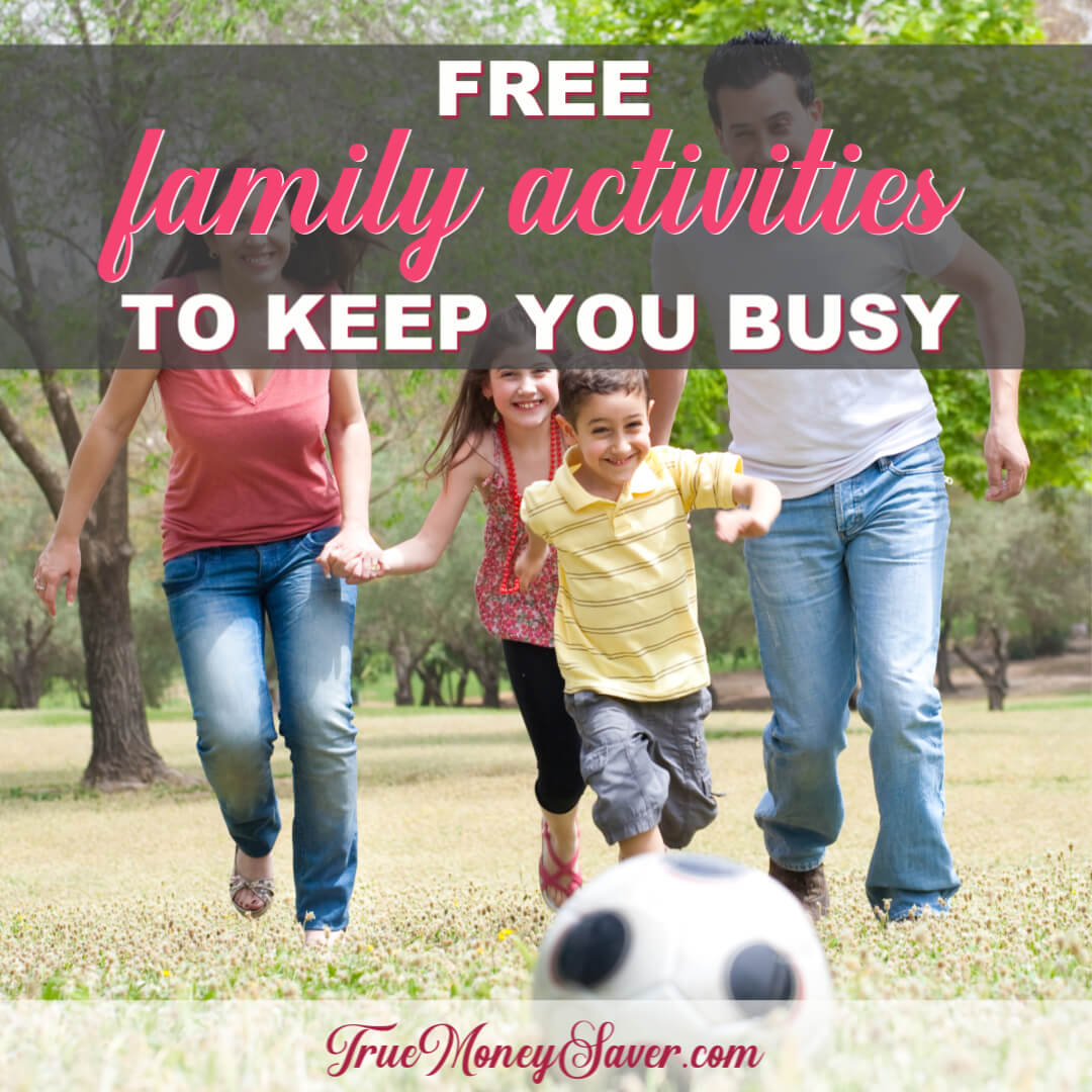 The Best Free Family Activities To Really Keep You Busy This Year