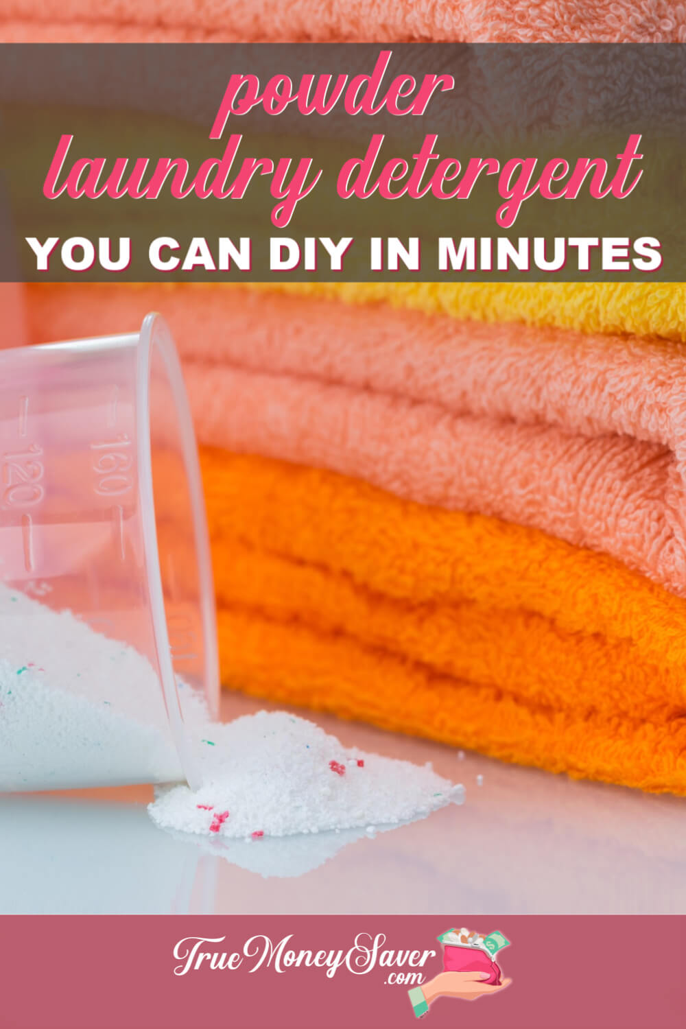 The Best DIY Powder Detergent You Can Easily Make Today