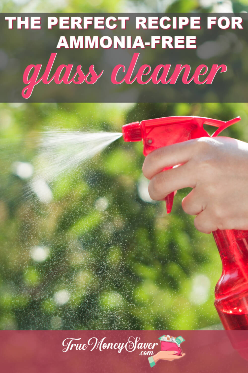 How To Make Ammonia Free Glass Cleaner You\'ll Love