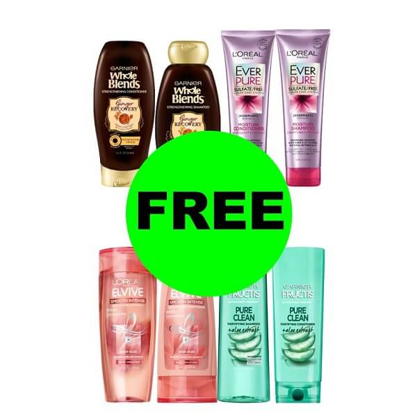 Sneak Peek CVS Deal: (8) FREE L'Oreal & Garnier Hair Care! (5/3-5/9)
