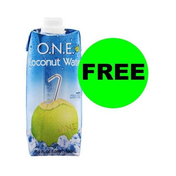 "Publix Deal: ""Clip"" Now For FREE O.N.E. Coconut Water! (Ends 5/31)"