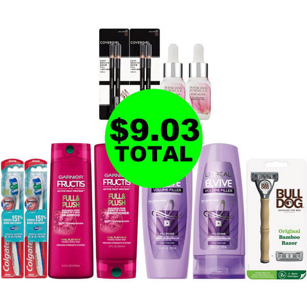 CVS Deal Idea: For $9.03 Total, Get (4) Hair Care, (4) Cosmetics, & (3) Personal Care Products! (5/31-6/6)