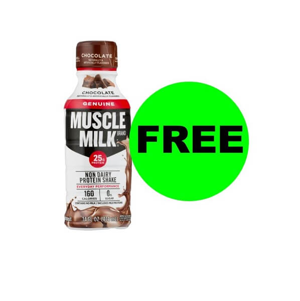 "Publix Deal: ""Clip"" Now For FREE Muscle Milk! (Ends 6/14)"
