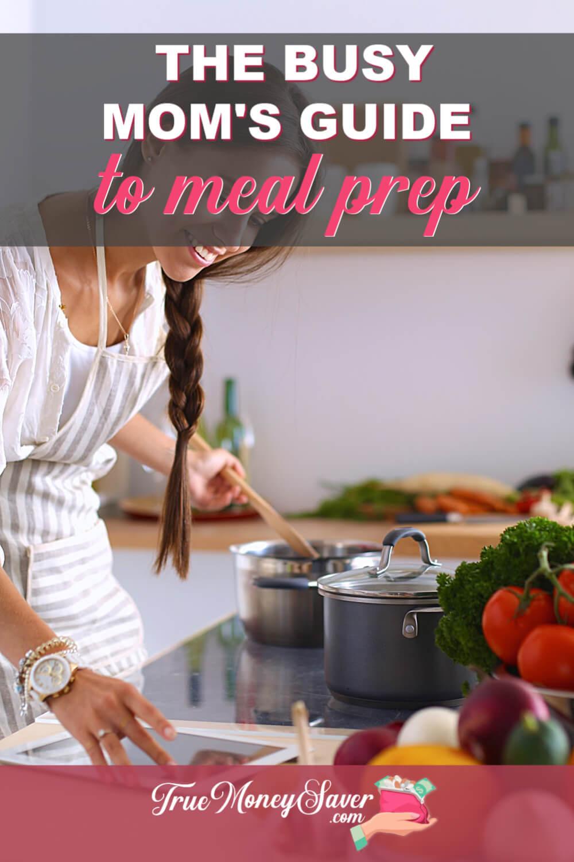 stress free meal prep