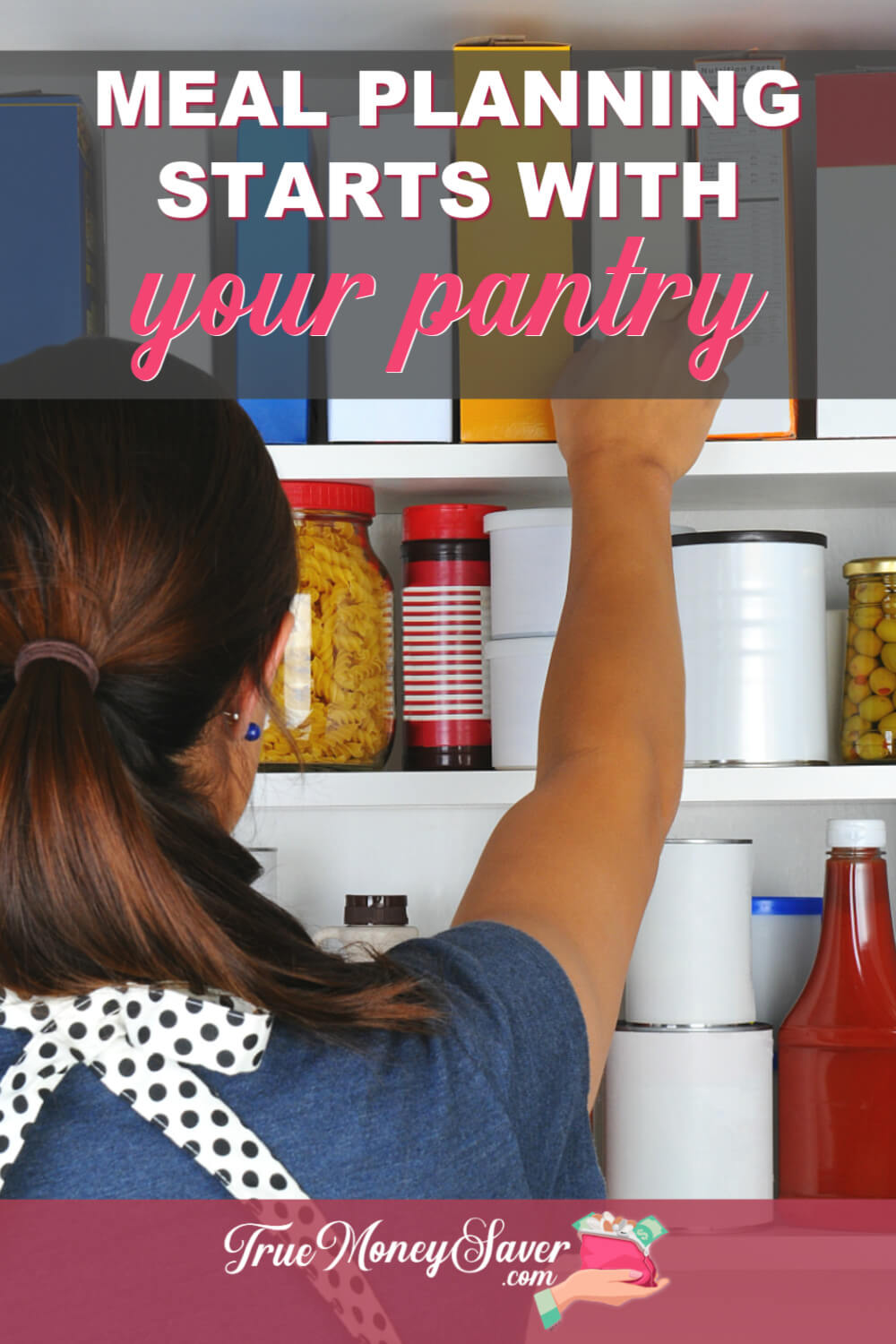 how to meal plan from your pantry