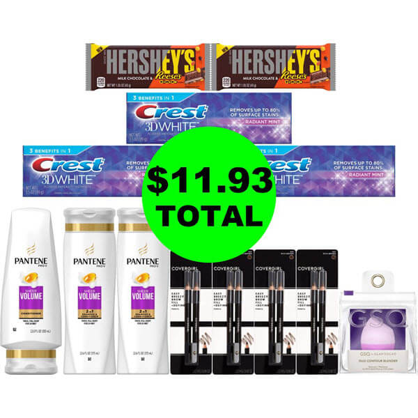 CVS Deal Idea: For $11.93 Total, Get (6) Personal Care Products, (5) Cosmetics & (2) Candies! (6/21-6/27)