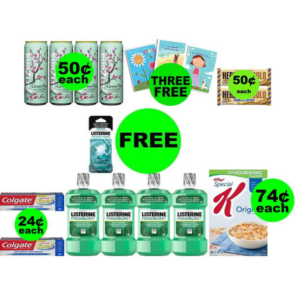 CVS Deals: Don't Miss 7 FREEbies Plus 4 Deals $0.74 Each Or Less This Week! (Ends 6/20)