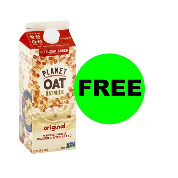"Publix Deal: ""Clip"" Now For FREE Planet Oat Milk! (Ends 6/19)"