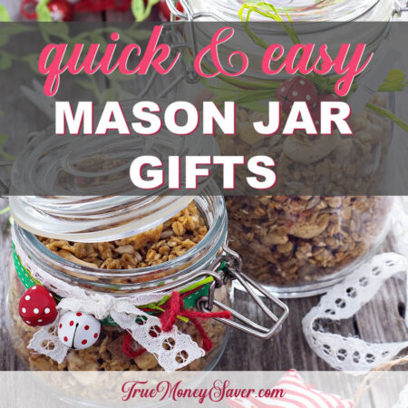 The Best Quick & Easy Gifts To Put In Mason Jars This Year