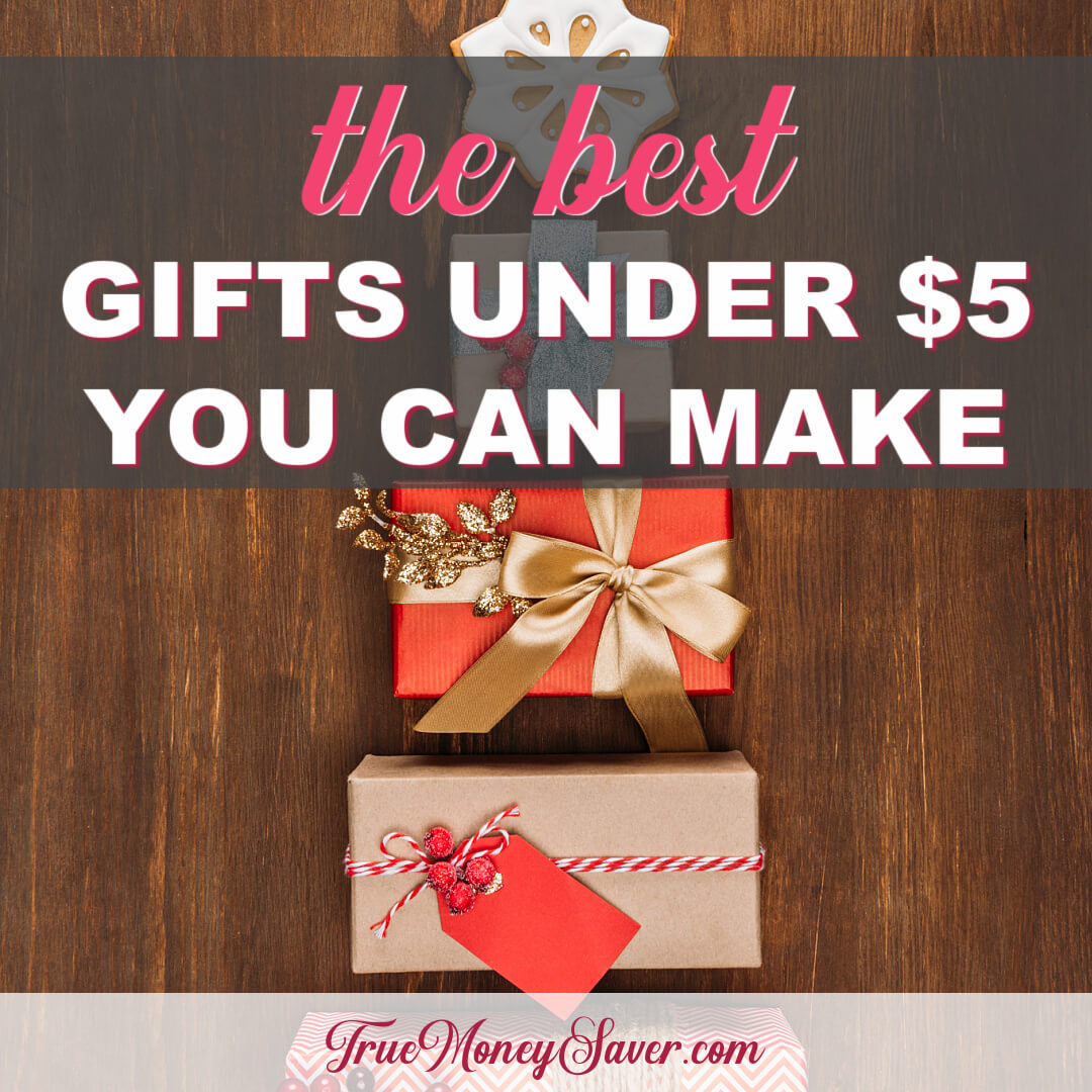 The Best Gifts Under $5 You Can Easily Make This Year